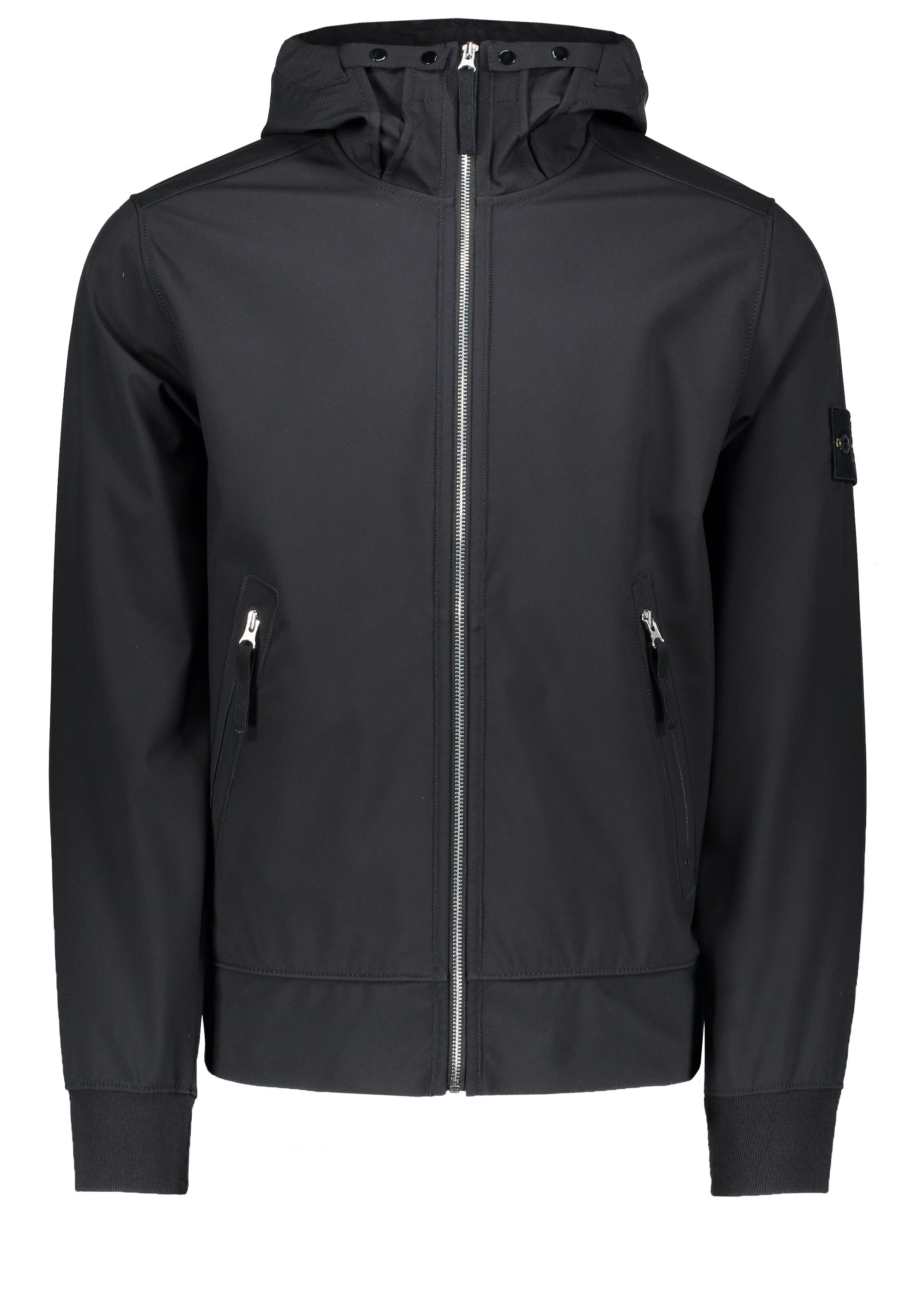 Stone Island Light Soft Shell R Hooded Jacket Jackets Casual Outwear Athletic Jacket [ 2798 x 2000 Pixel ]