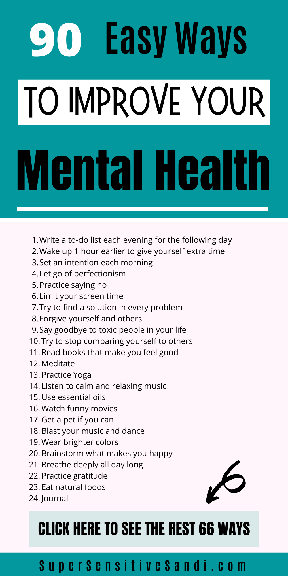 90 Easy Ways to Improve Your Mental Health