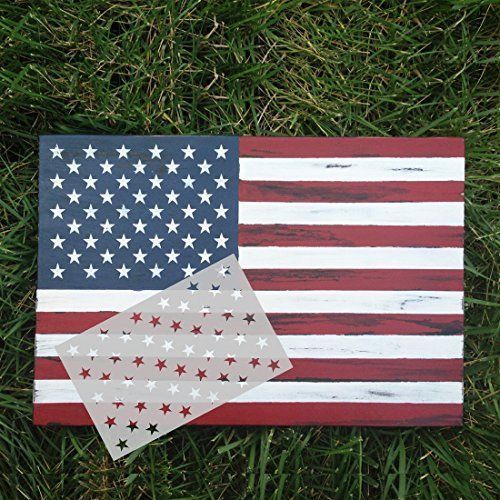 American Flag Stencil Template 50 Star DIY 10.5''x15'' For Wood Fabric Wall NEW | Crafts, Home Arts & Crafts, Decorative & Tole Painting | eBay! #WoodPlansMoney