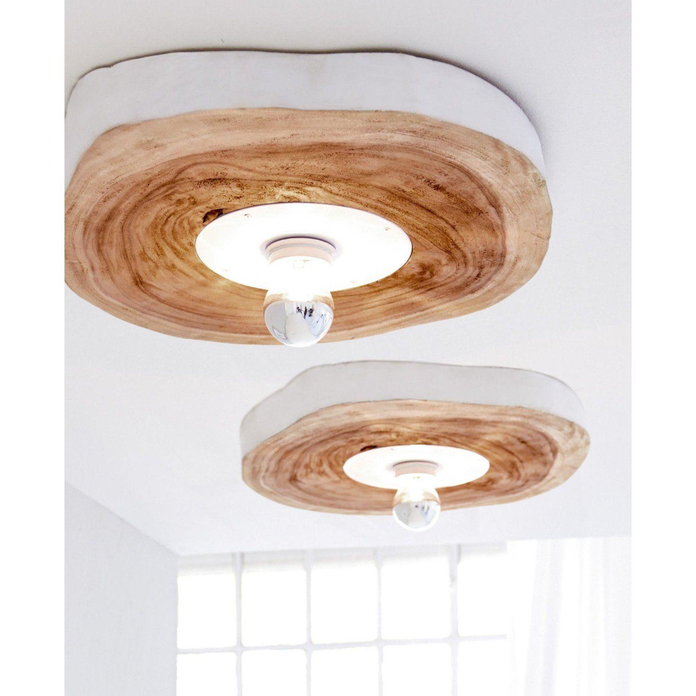 deckenleuchte baumscheibe walnussholz lampen licht pinterest deckchen holz und beleuchtung. Black Bedroom Furniture Sets. Home Design Ideas