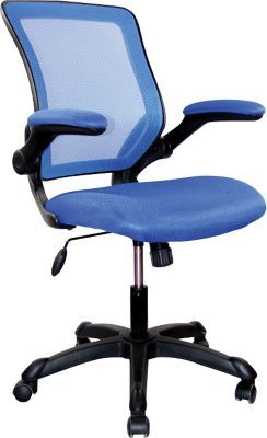 Shop Staples® for RTA Products Techni Mobili Mesh Task Chair, Blue ...