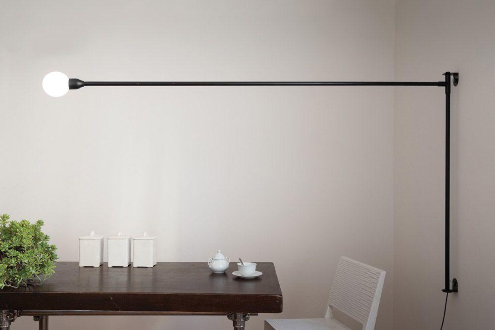 Lampade da parete lampada potence pivotante da nemo lighting in
