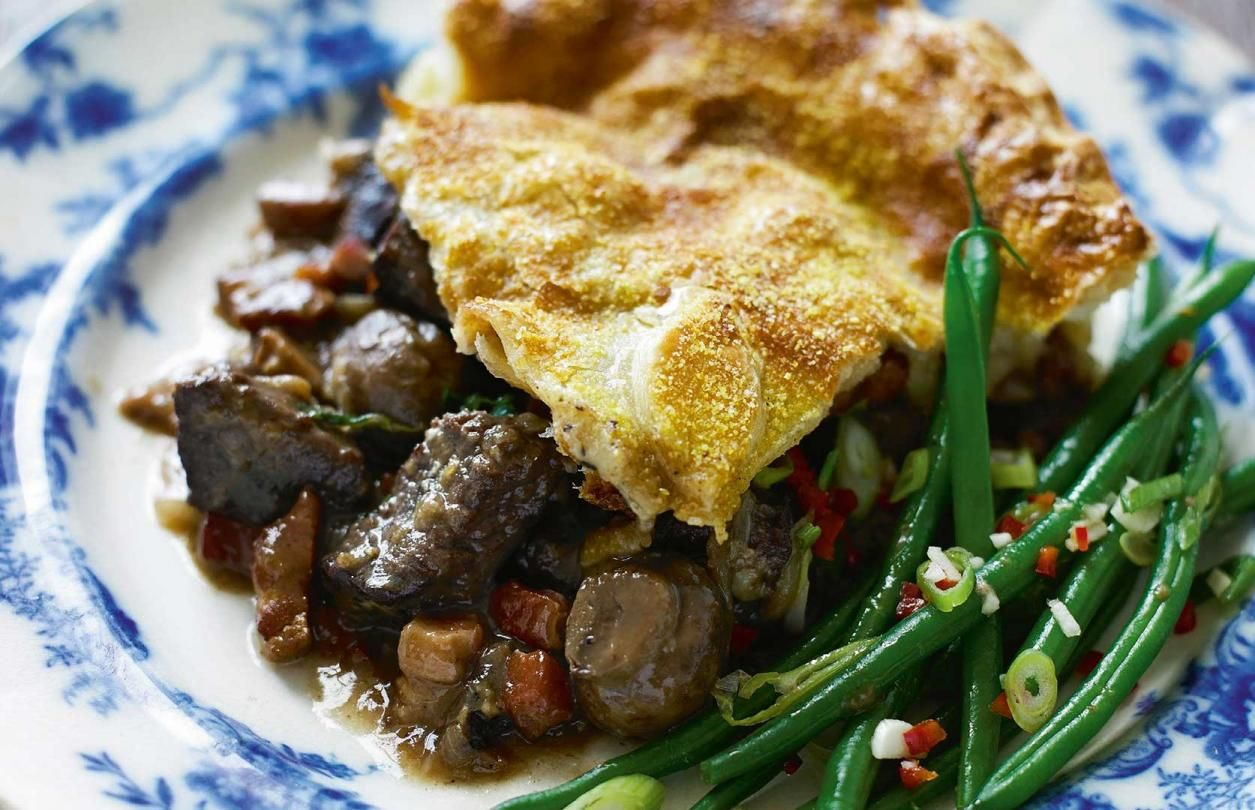 Our Recipes | Higgidy Pies | Beef bourguignon, Food ...