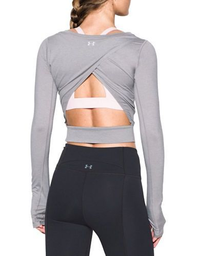 Wishbone Crop Top by Under Armour