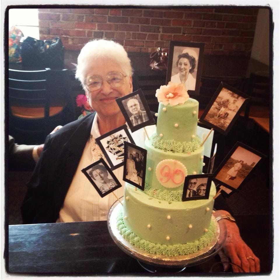 90th Birthday Cake for grandmother Church Street Cakery