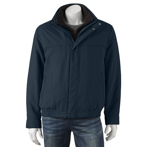 2b4b21558 Croft & Barrow® Bibbed Microfiber Jacket - Men | Nephi Wardrobe ...