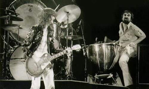Keith Moon joins Led Zeppelin for a rousing version of Rock