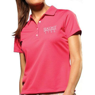 b31de416822 Our custom embroidered polo shirts for women can be personalized ...