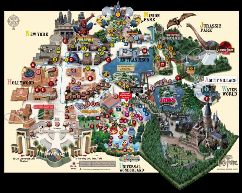 Universal Studios Japan Map Insider Guide: 9 Magical Tips to Conquer Japan's Wizarding World