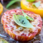 Minimal Monday: Heirloom Parmesan Tomatoes