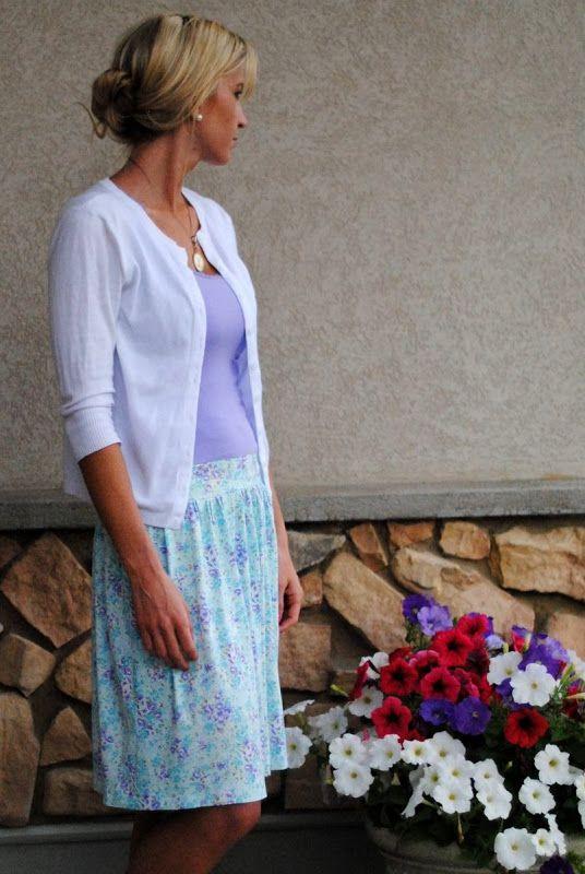 Elle Apparel: Lavender Dress