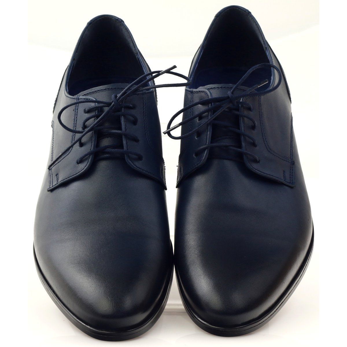 Polbuty Pantofle Meskie Nikopol 1628 Granatowe Shoes Mens Dress Shoes Men Oxford Shoes