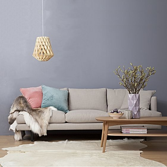 Velvet Two Toned Cushion By Canningvale