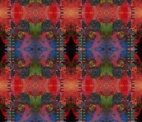Yoko's Dreaming Again fabric by loriwierdesigns on Spoonflower - custom fabric