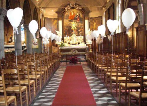Versiering kerk decoratie bruiloft pinterest weddings