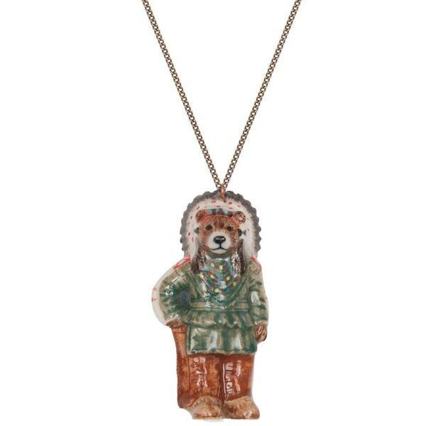 8e95db878 Grizzly Bear Pendant Necklace | Nature Jewelry in 2019 | Cavin Richie  Jewelry | Animal jewelry, Jewelry, Pendant necklace