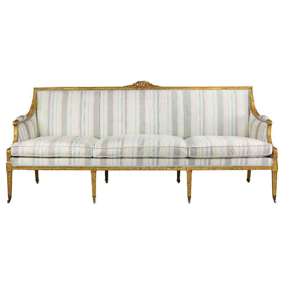 Excellent Gilded Sofa For Sale At 1Stdibs Sofa In 2019 Sofa Machost Co Dining Chair Design Ideas Machostcouk