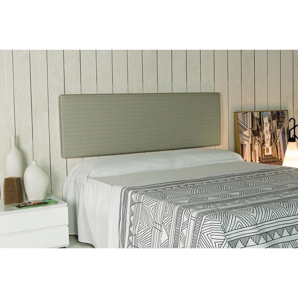 Cabecero tapizado esencial alto 50 tela zip 36 es un - Cabeceros tapizados tela ...