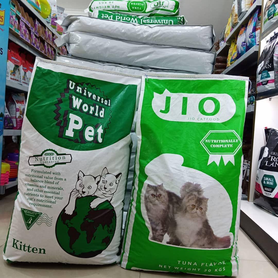 Masih Ready Ya Universal Kitten Dan Jio Nya Tersedia Ukuran Sak 20kg Dan Repacking 1kg 500gr Harga Mur Complete Nutrition Cat Food Nutritional Requirements