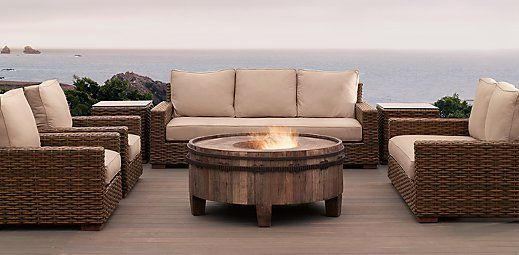 I For This All Weather Wicker Outdoor Furniture Antigua Restoration Hardware