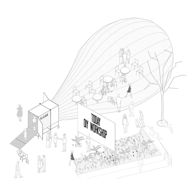 Bicloud Cultura De Guerrilla Bear Studio