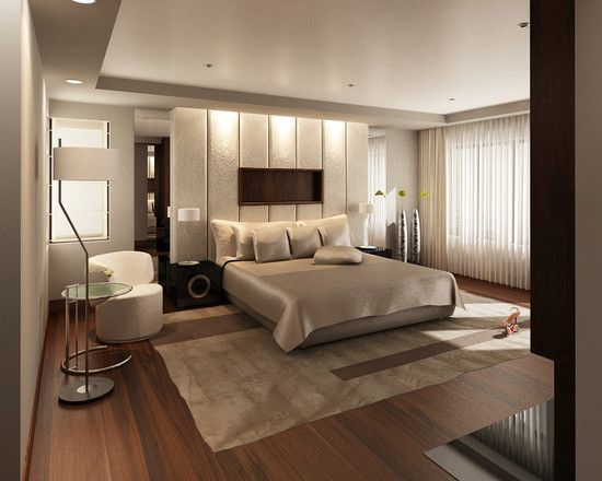 Luxurious Contemporary Bedroom Designs With Bright Interior Design