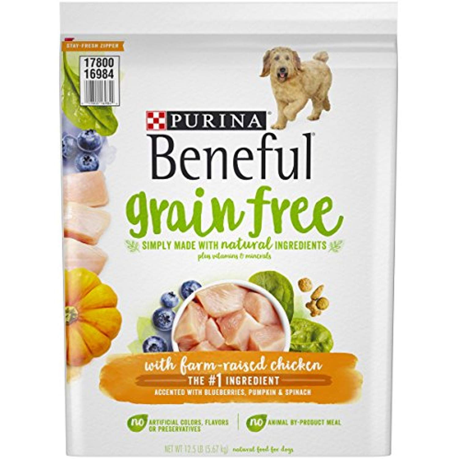 Purina Beneful Grain Free With Real Farm Raised Chicken Adult Dry