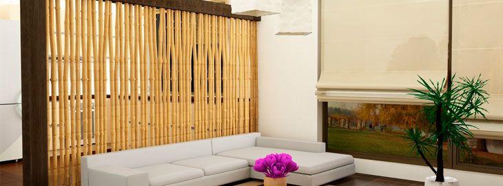 Pin de yare en muebles pinterest separadores de - Canas de bambu decoracion exterior ...