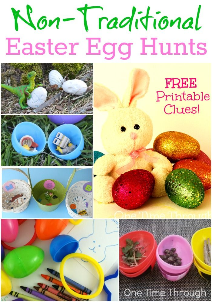 18 Non Traditional Easter Egg Hunts Easter Egg And Holidays