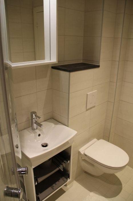 Glimrende Nyoppusset, lite #bad med praktisk #oppbevaring. | Bad og våtrom XZ-74