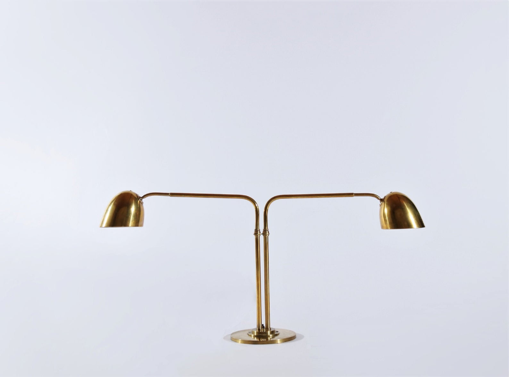 Huge Brass Desk Lamp By Vilhelm Lauritzen In The 1940s Etsy In 2020 Desk Lamp Brass Desk Lamp Lamp