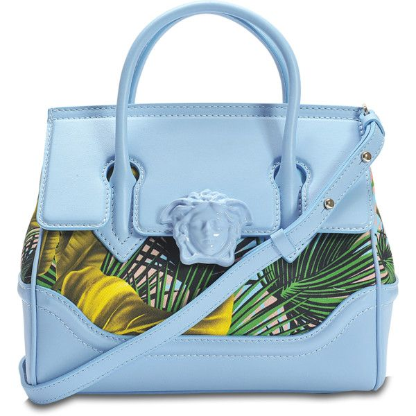 b33cb83d5d Versace Palazzo Empire small bag ($2,000) ❤ liked on Polyvore featuring bags,  handbags, shoulder bags, multicoloured, blue crossbody purse, multicolor ...