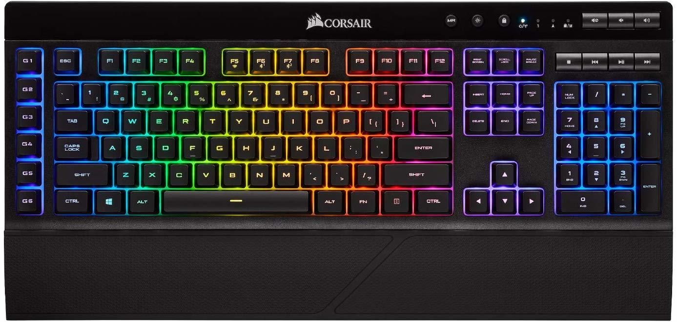 Corsair K57 Wireless Rgb Gaming Keyboard Pc In 2020 Keyboard Macro Keys Usb