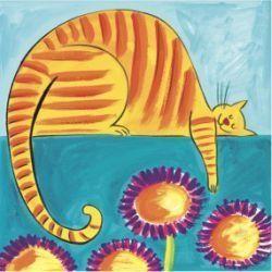 cat art prints