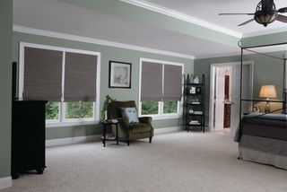 Levolor Woven Wood Shades Window Blinds detroit by Steves