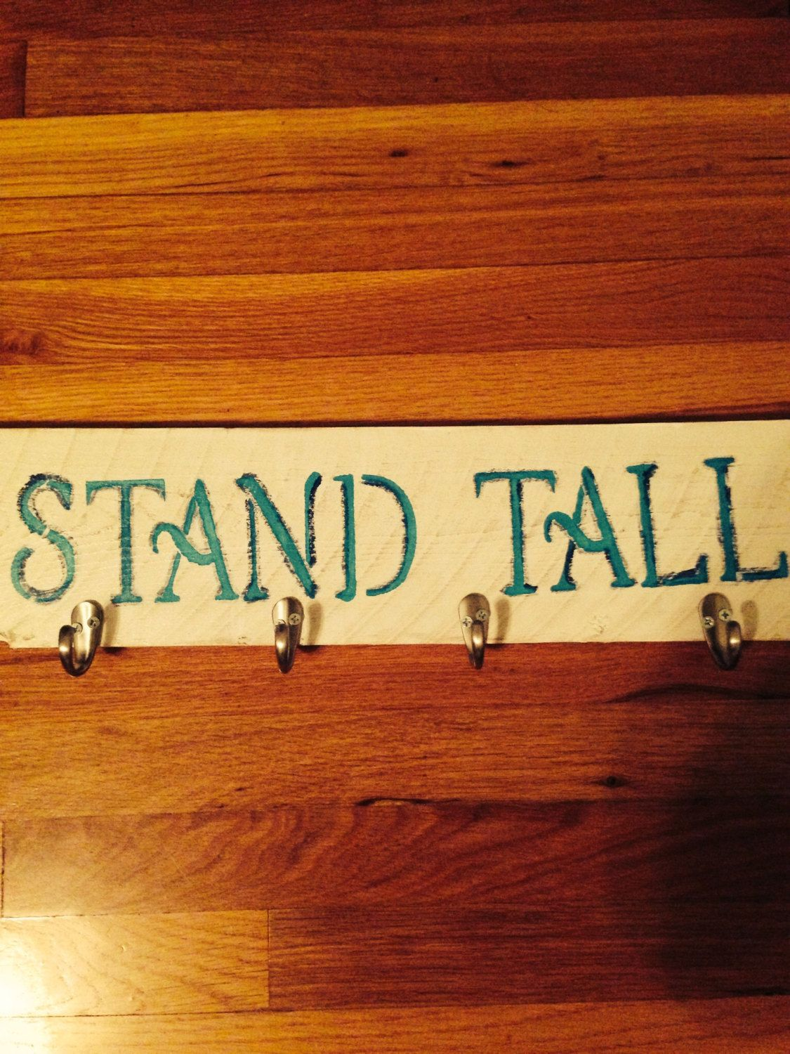Coat rack by LaughNCraft on Etsy