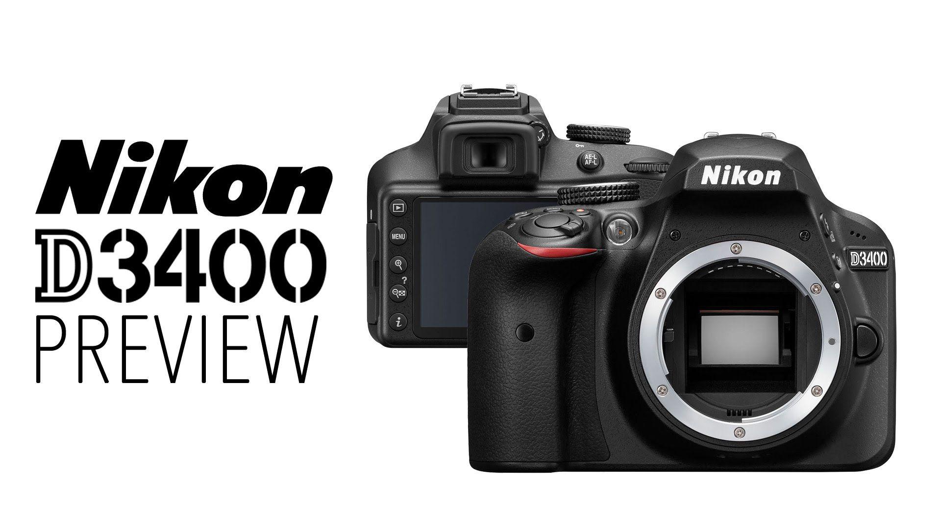 Nikon D3400 - Preview en Español
