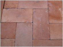 Cod: tc03 antiche piastrelle rettangolari in cotto piemontese di