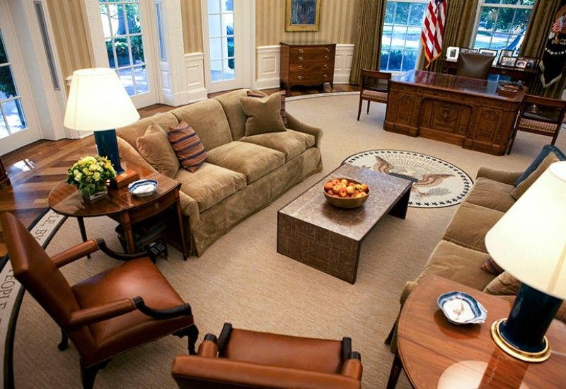 Jonas Breck Sofas In The Oval Office Rug
