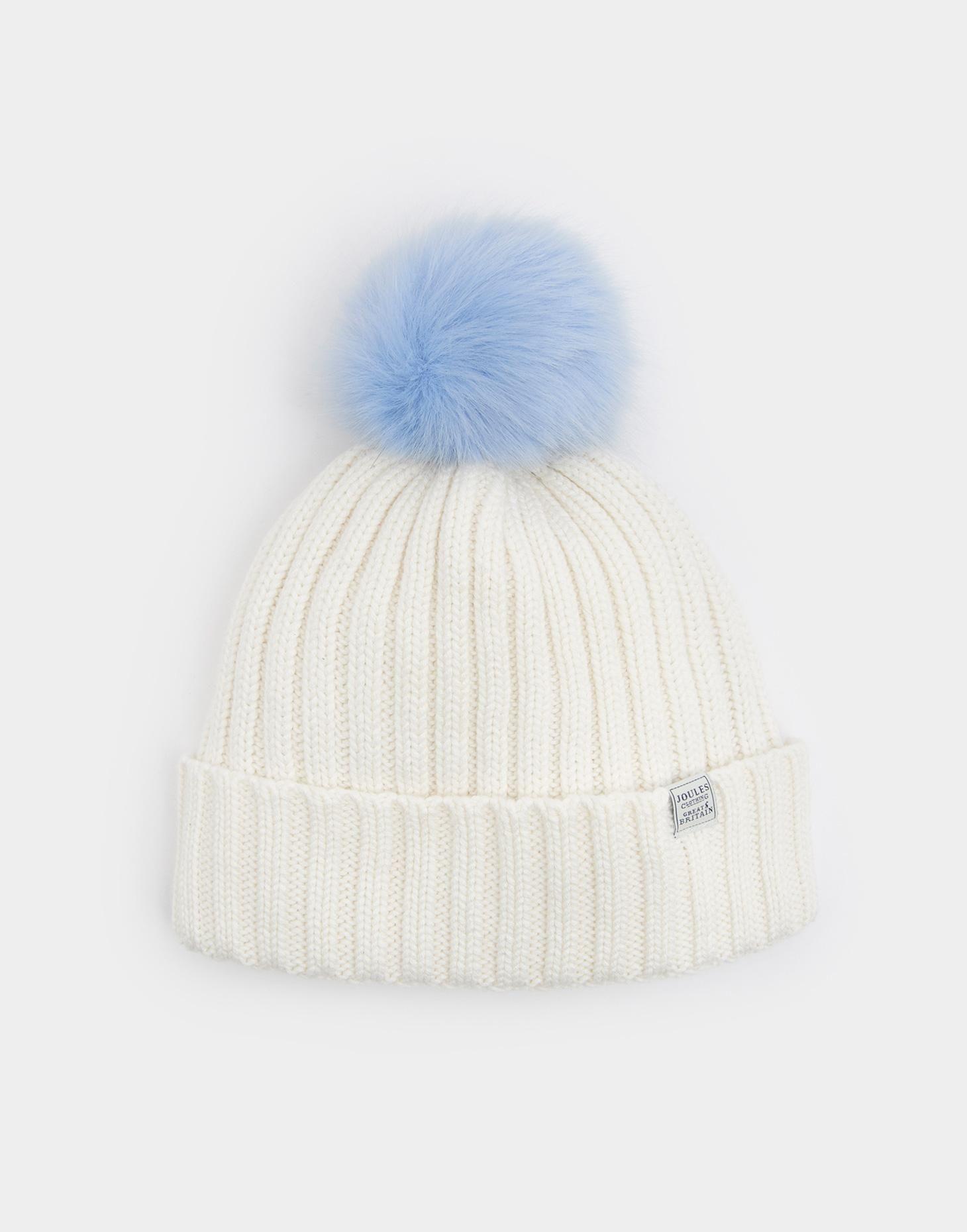 ffbd9c7535b Pop-a-pom Light Blue Bobble Hat