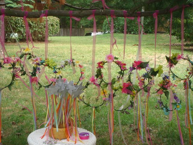 Photo 18 Of 47: Enchanted Fairy Garden Party / Birthday