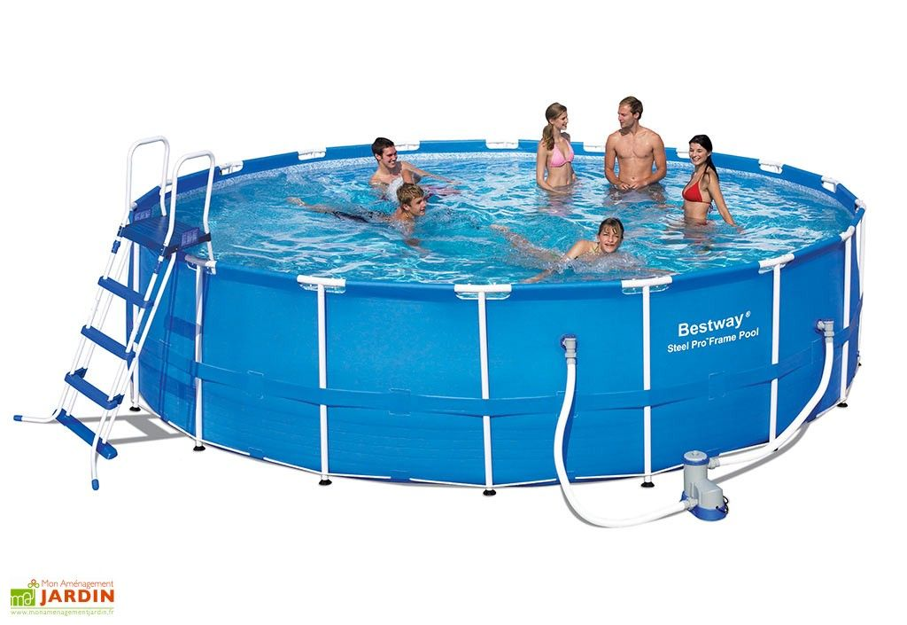 Piscine Tubulaire Hors Sol Ronde Steel Pro 23m3 O549cm Piscine Tubulaire Piscine Piscine Hors Sol