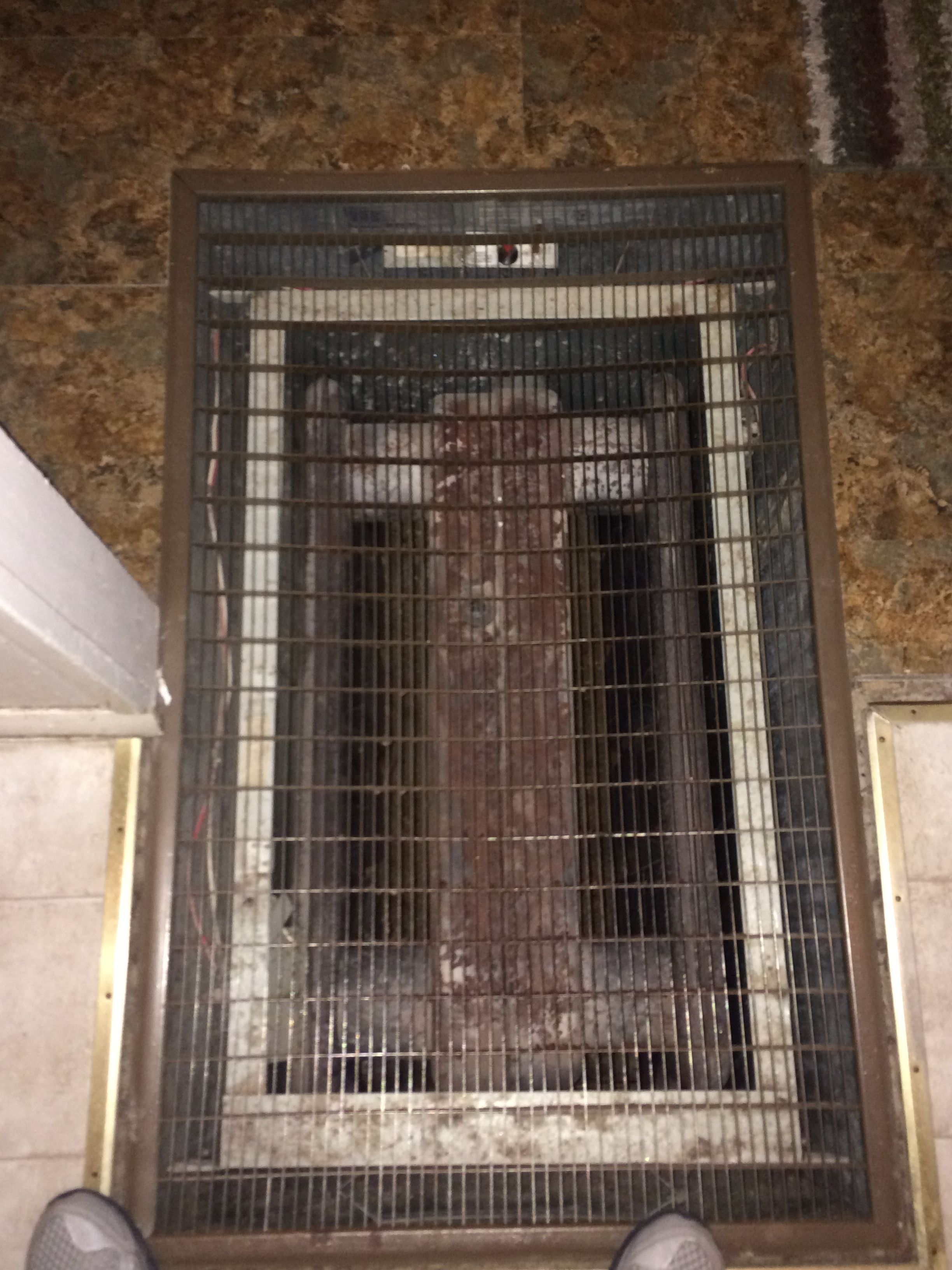 Replace An Oid Floor Furnace With A Safer High Efficiency Model