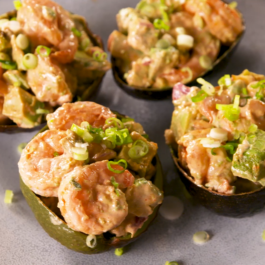Photo of Spicy Shrimp Stuffed Avocados Make Lunch Exciting