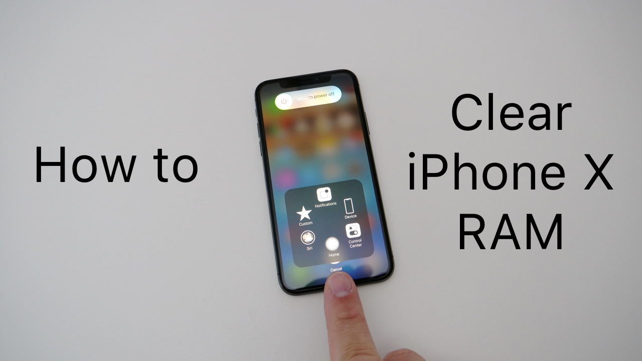 How To Clear iPhone X RAM Memory Iphone, Memories, App