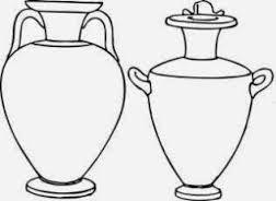 Resultado de imagem para jarroes gregos com pe alto