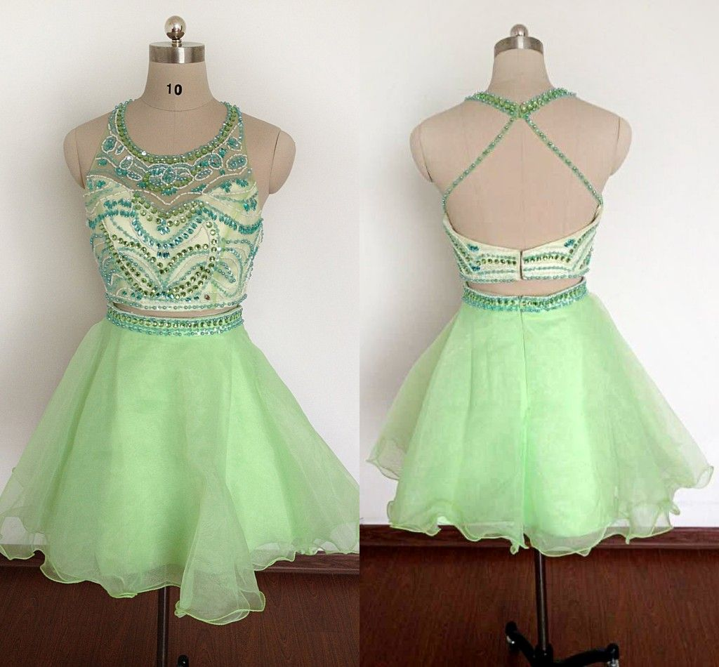 New light green short homecoming dr prom dresses cocktails and