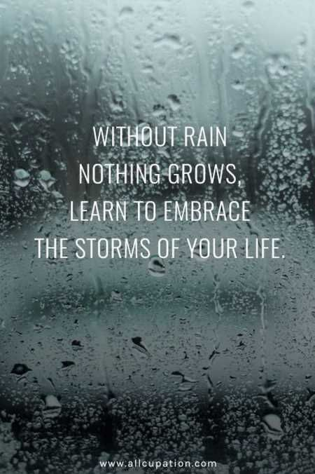 Image result for our biggest tests come in the form of storms quotes
