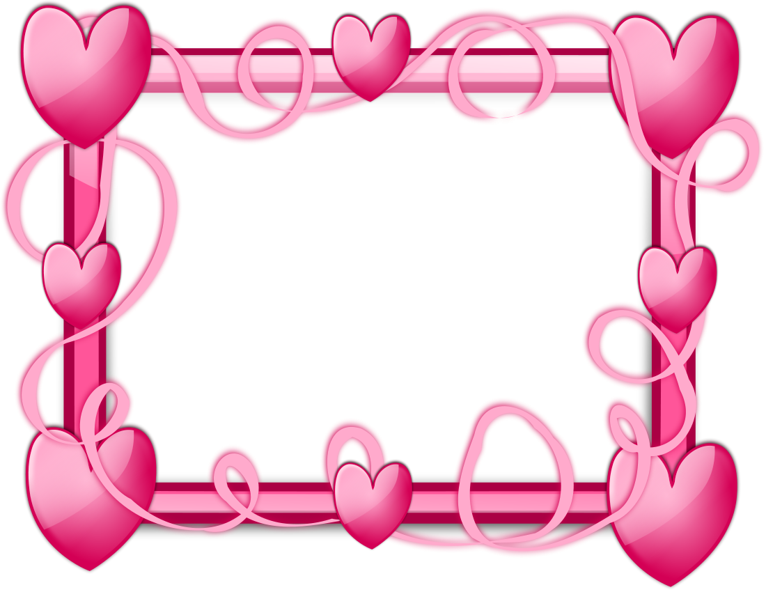 photo regarding Valentine Borders Free Printable named Absolutely free Printable Valentine Envision Frames