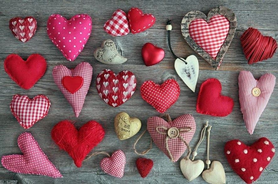 Pin by Lisa Smith on Hearts Heart crafts, Fabric hearts